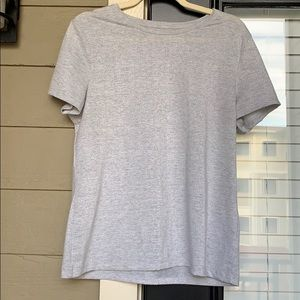 Sparkly Silver Dressy T-Shirt